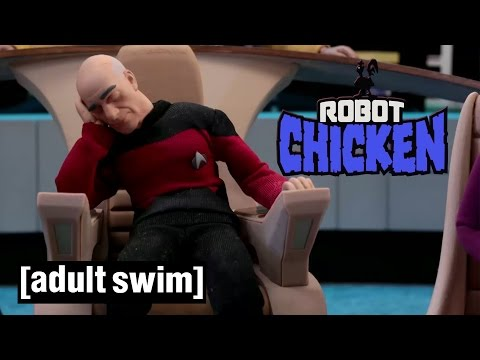The Best of Star Trek Robot Chicken Adult Swim