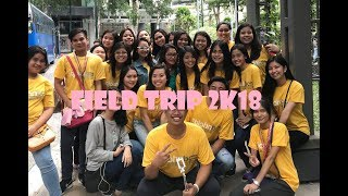 Fieldtrip 2k18 (The Art in Island, The Mind Museum, Venice Mall, And Enchanted Kingdom)