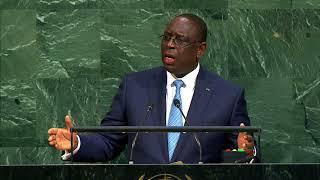 ONU - Discours de Macky Sall, Président du Senegal - 72e Assemblée Générale