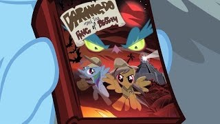 Rainbow Dash - Sweet! The new book a week before anypony else gets it! Ohmygosh! Oh my gosh!