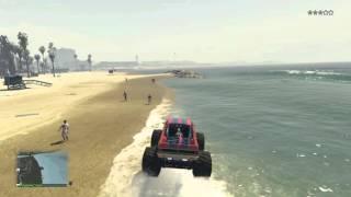 تجربة سيارة الوحش حرامي سيارات / GTA