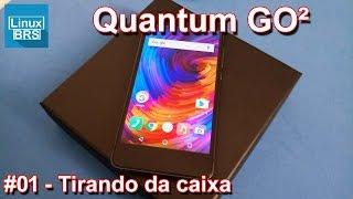 Quantum GO2 - Unboxing e especificações