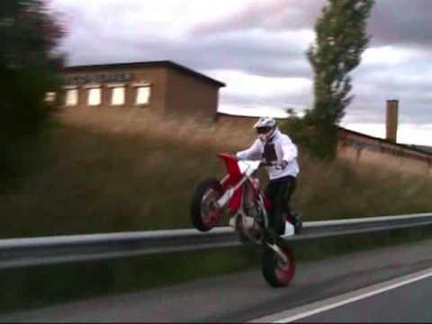 Honda CRF 450 motard  mx