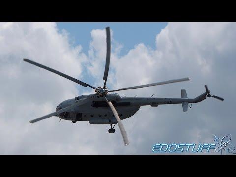 Awesome Takeoff! - Mi-8 MTV-1 Croatian Air Force - Zemunik Air Base