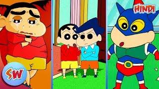 Top 10 Interesting Fun Fact of Shinchan   Explained in Hindi   Anime in Hindi