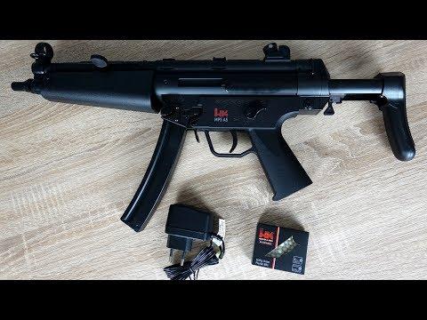 MP5 A5 Softair | Test schießen und Review - dualpower elektrisch und manuell