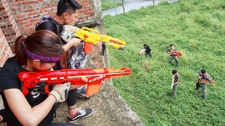Nerf Guns War: The Men Of SEAL TEAM Special Fight The Pursuit Of Criminal Groups