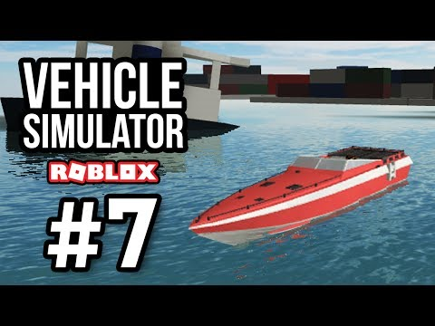 FASTEST BOAT IN GAME - Roblox Vehicle Simulator #7