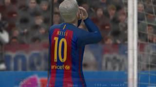 PES 2017 (PS2) FC Barcelona vs Real Madrid - El Clásico! La Liga Santander