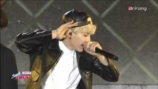 [HD] BTS - I Need You + Dope @ ArirangTV Simply KPOP151030