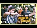 Nagaraja Cholan MA MLA Movie Scenes | Seeman and tribals fight against goons | Sathyaraj