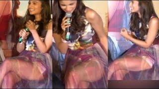 Alia Bhatt's oops moment at 'Shaandaar' trailer launch