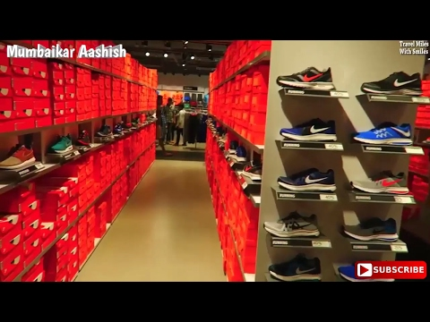 Nike Factory Outlet Mumbai  || mumbaikar aashish ||