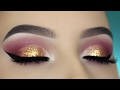 Gold Glam Eye Makeup Tutorial