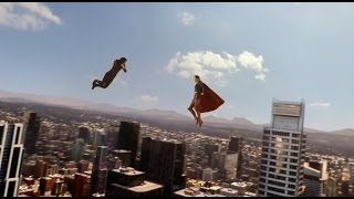 Supergirl 1x08 Supergirl vs Astra Fight Scene