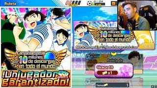 Ticket 10M Descargas - Captain Tsubasa Dream Team