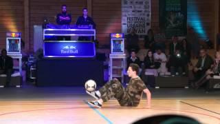 Show - 2è place - Clem (Switch Crew) - Championnat de France Freestyle Football - Royan