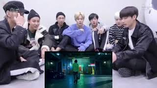 "BTS REACTION TO SUPER JUNIOR FT LESLIE GRACE ""LO SIENTO"" MV"