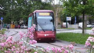Rubber-tyred tram in Venice, Italy - Rete tranviaria di Venezia 2016