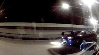 Single Turbo Supra vs Z06 - Highway Run