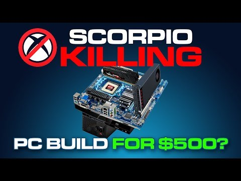 Xbox One X KILLING PC for 500 How to Build a Gaming PC