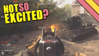 3 Things I'm Not Excited About For Call of Duty WW2