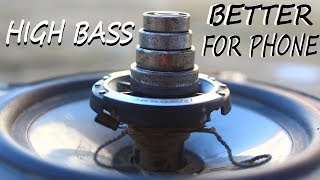 How to increase high bass on subwoofer Make speaker louder better