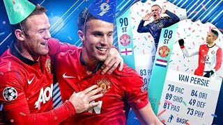 THE BEST UNITED STRIKER?! FUT BIRTHDAY ROONEY VAN PERSIE SQUAD! FIFA 18 ULTIMATE TEAM