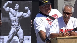 Ed Corney Muscle Beach Hall of Fame Induction 2015