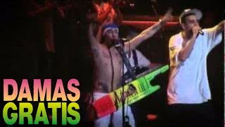 Damas Gratis - Cumbia Callejera ( con Dante Spineta ) Luna Park - Recital en vivo