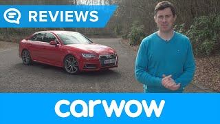Audi A4 Saloon 2017 review | Mat Watson Reviews