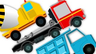 Trucks Song   Nursery Rhymes For Kids And Childrens   Learn Transport   Baby Songs