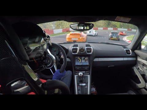 Porsche Cayman GT4 vs. 997 GT3RS, 991 GT3 & BMW 1M Touristenfahrten//.