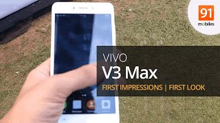 Vivo V3 Max : First Impressions | First Look | Hands on