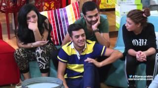 إهاب امير من المغرب باللون المغربي في جلسة السوشيال ميديا- ستار اكاديمي 11 / 21-10-2015