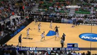 6 Xavier vs. 2 Kansas State Highlights