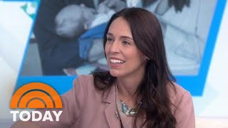 New Zealand's Prime Minister Jacinda Ardern Talks About Being A New Mom And World Leader | TODAY
