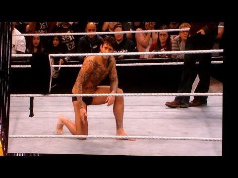 Stephanie McMahon and CM Punk Spinarooni