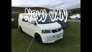 PICKING UP MY NEW VW TRANSPORTER T5 CAMPER | CONVERSION | T5 ADVENTURES