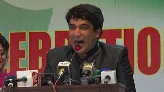 Khabarnaak Anchor Mir Muhammad Ali at AJK Council Function