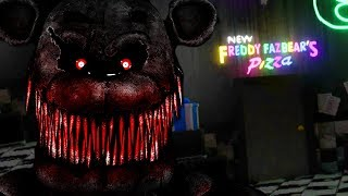 SPENDING THE NIGHT AT A FNAF MUSEUM..THE ANIMATRONIC CAME TO LIFE! || FNAF Hidden Gems