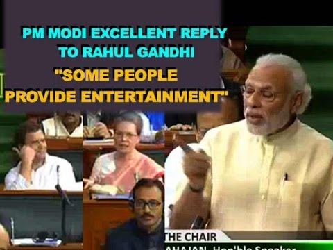 PM Modi excellent reply to Rahul Gandhi in Parliament | FULL SPEECH