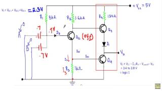 TTL NAND gate with Totem Pole Output