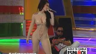 Diosa Canales se pone rapida con Chimbala en programa de TV!!!