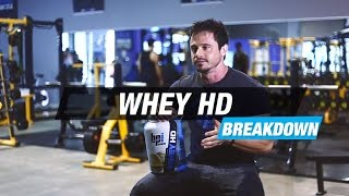 WHEY HD™ Premium Protein Breakdown - Know Your Supps - BPI Sports