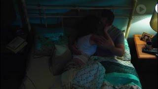 Sonya and Toadie kiss and hug scene ep 7464