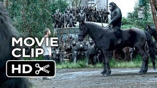 Dawn Of The Planet Of The Apes Movie CLIP - Apes Don't Want War (2014) - Sci-Fi Action Movie HD