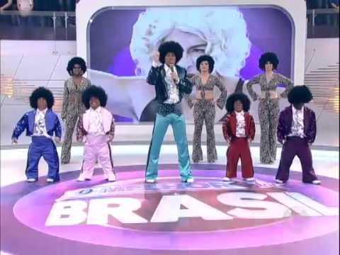 Dança Gatinho Dança Rodrigo Faro vira Michael Jackson criança