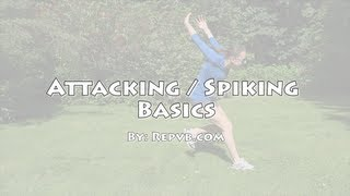 How To Spike Or Attack A Volleyball