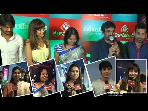 ' Romeo' Movie Premier Show - Purijagannadh, Sairamshankar, Adonica